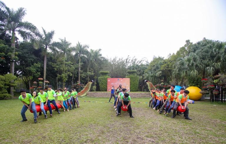 AHA- Team Building: Đoàn tàu thần tốc