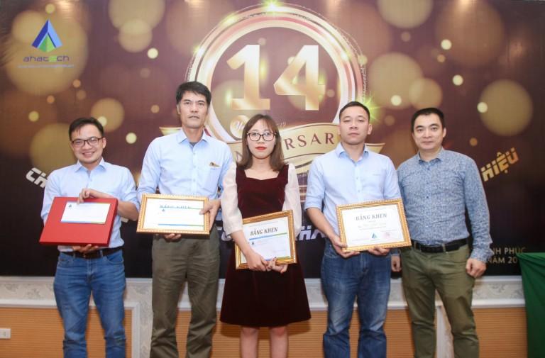 AHA- Trao thưởng nhân viên xuất sắc 2019