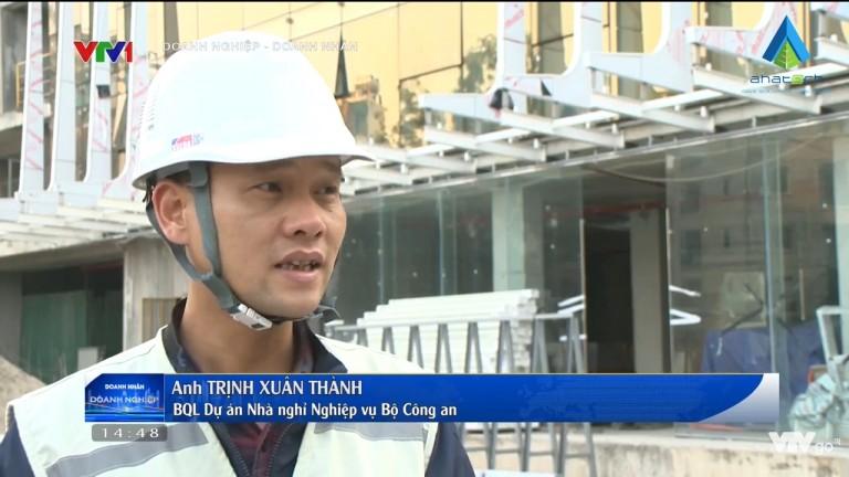 [VTV1] AHA – Nhà thầu Nhôm Kính đồng hành cùng công trình XANH